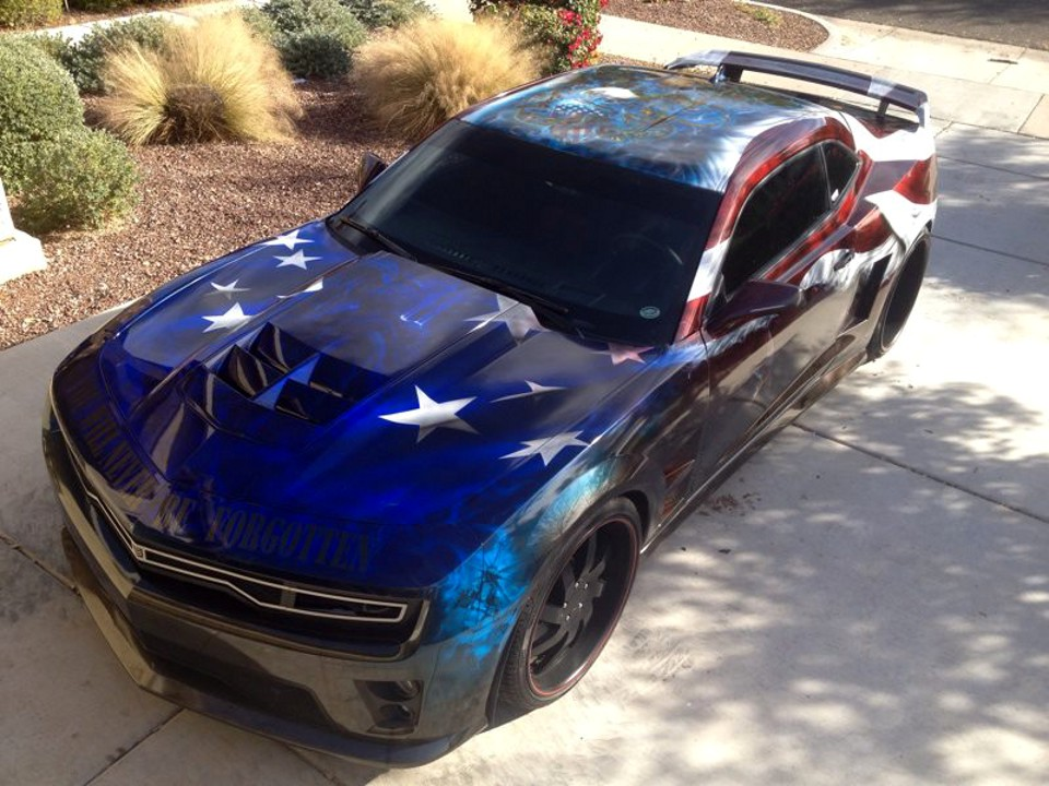 Camaro Zl1 Freedom Fighter When Performance Meets The Military Autoevolution