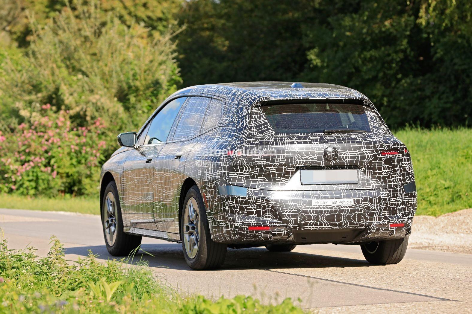 Camouflaged 2022 BMW iNext Autonomous EV Looks Less ...