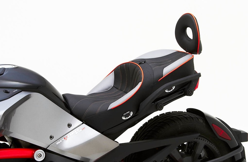 Can Am Spyder F3 Receives Luxurious Corbin Seats
