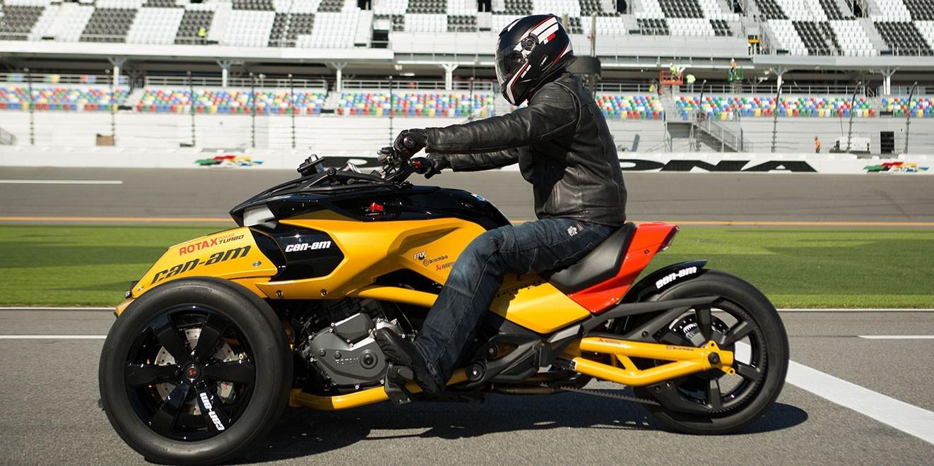 Can Am Spyder F3 Turbo Sounds Like Fun Autoevolution