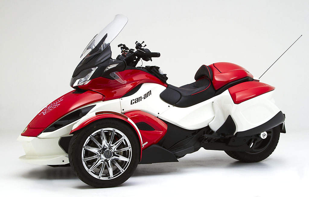 Corbin Fleetliner Saddlebags for Can-Am Spyder
