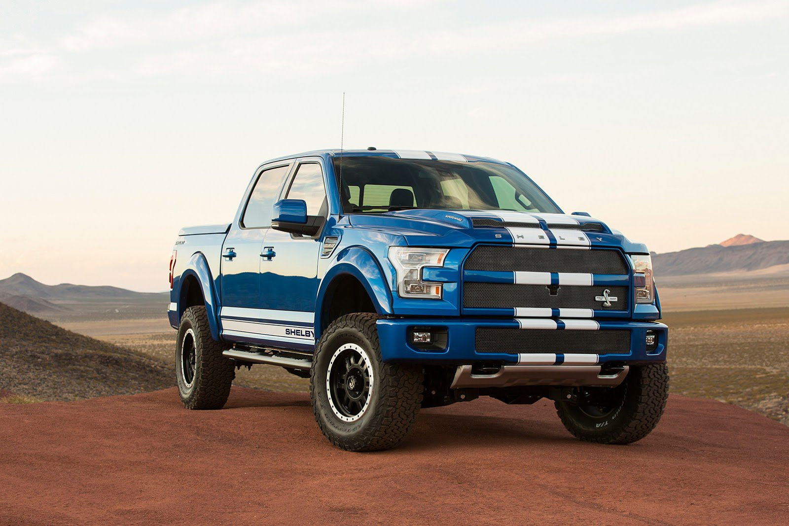Can't Wait for the 2017 Ford F-150 Raptor? Here's the 2016 Shelby F-150 - autoevolution