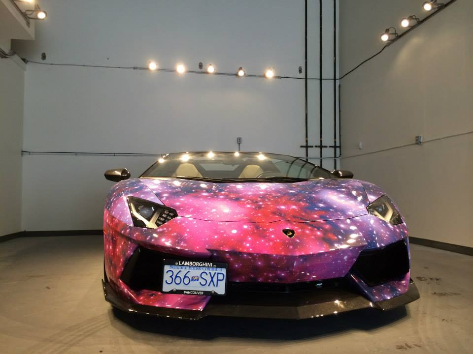 Best Lamborghini Aventador Galaxy Paint Job Golfclub