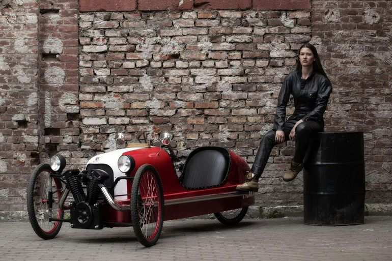 Can T Afford A Morgan How About This Three Wheeled