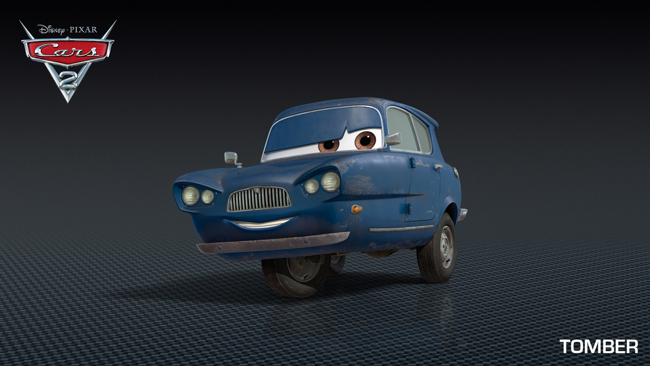 Car 2 Animated Cast Of Characters Gets A Little Weird