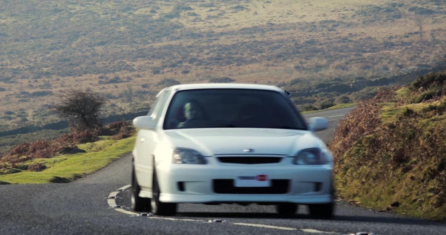 Car Throttle Drives Legendary Ek9 Honda Civic Type R Vtec