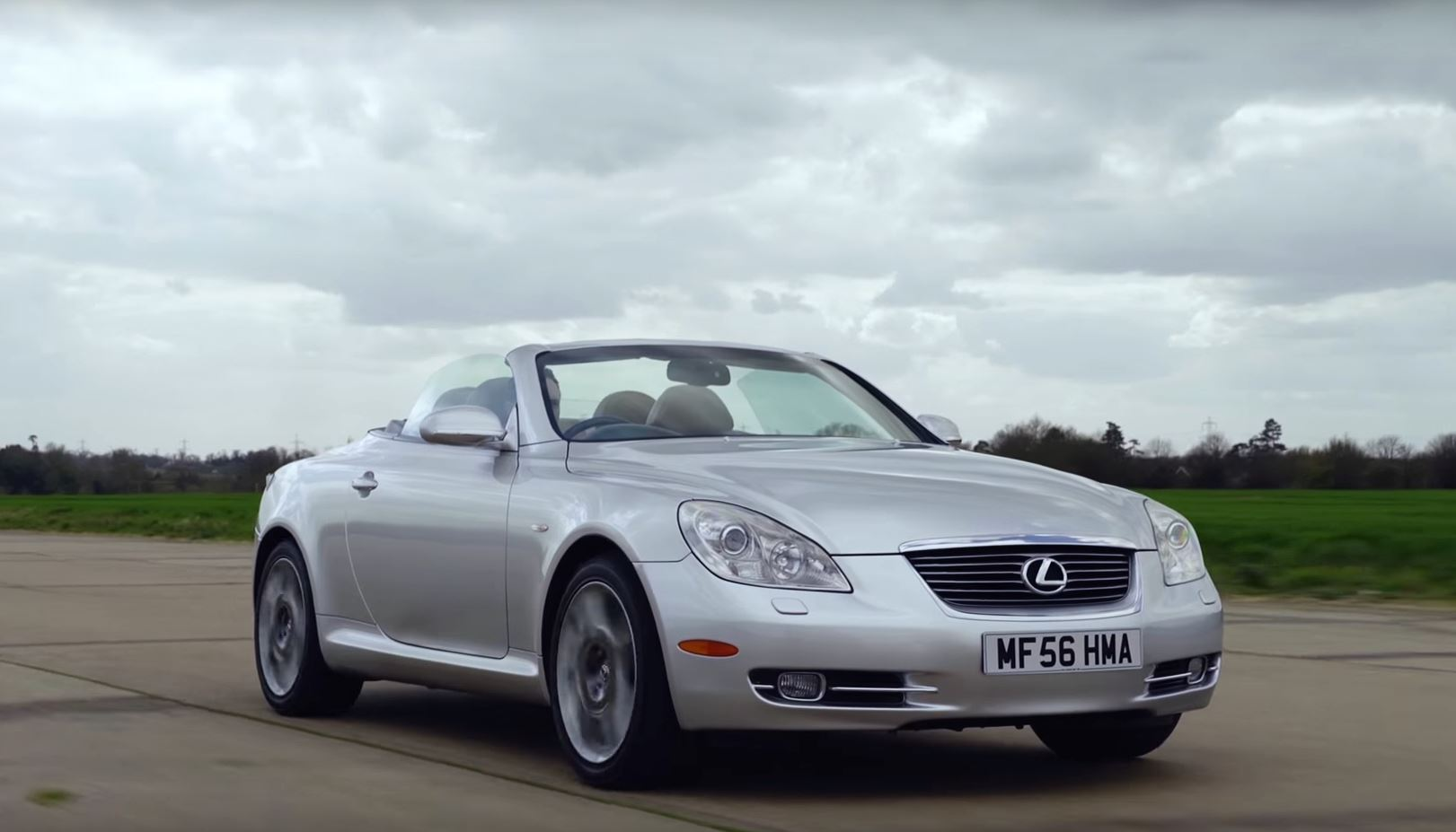 ... Car Throttle Says Top Gear Is Full Of It, The Lexus SC430 Is A Good