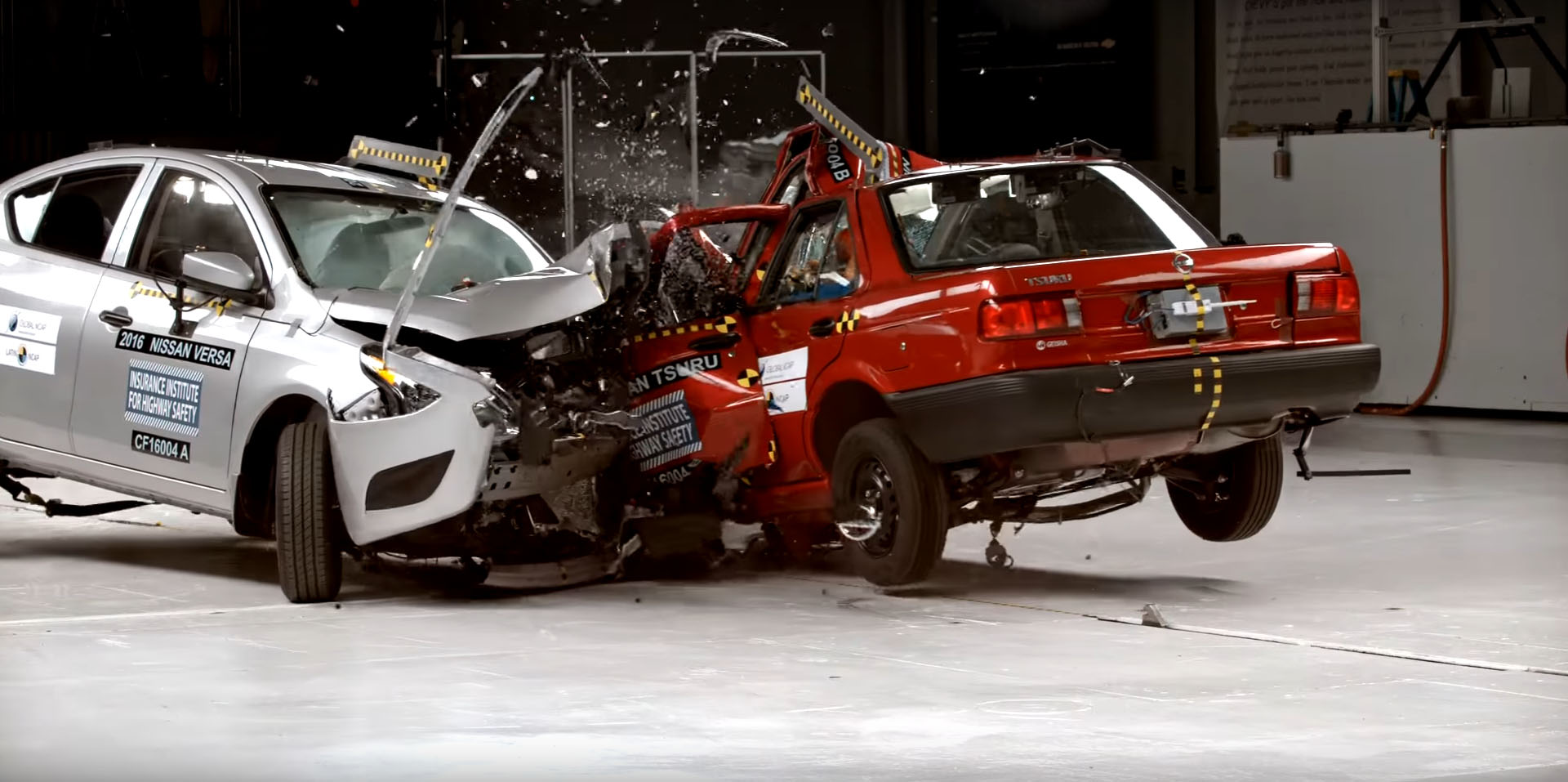 Nissan Nismo Maxima >> Car to Car Crash Test Forces Nissan to Stop Production of Zero Stars Tsuru Model - autoevolution