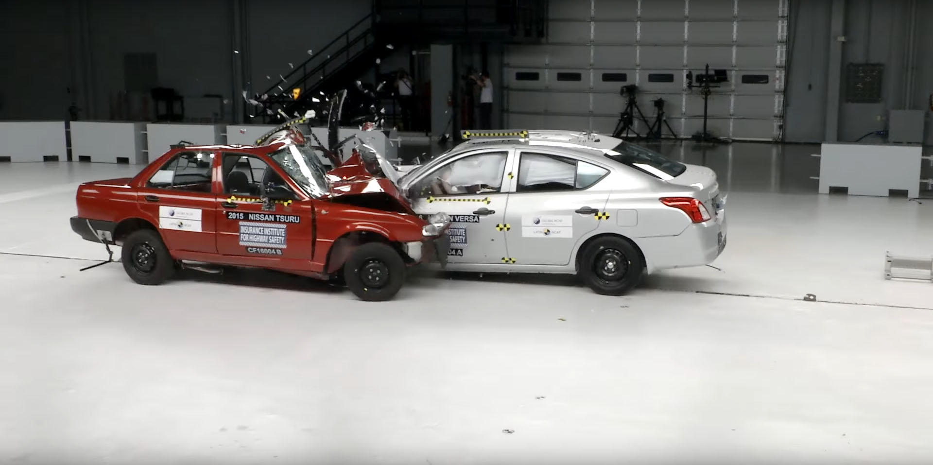 Car To Car Crash Test Forces Nissan To Stop Production Of Zero Stars