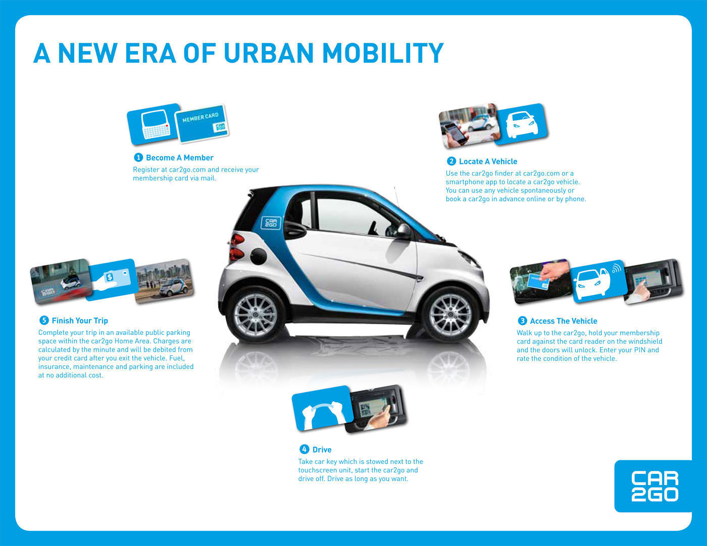 car2go brings better car sharing in minneapolis usa autoevolution. Black Bedroom Furniture Sets. Home Design Ideas