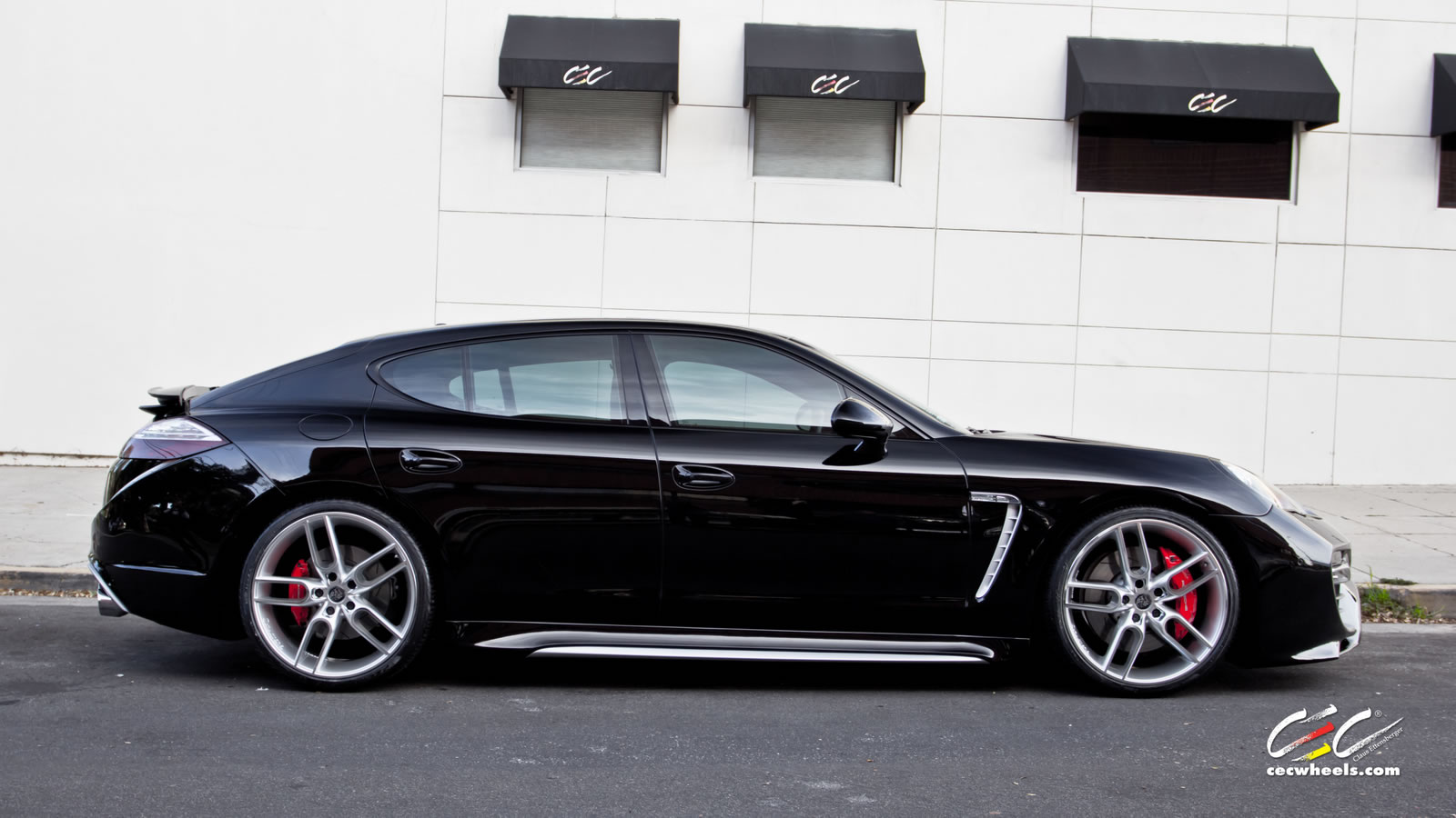 Caractere Exclusive Panamera Turbo S Gets Cec 22 Quot Wheels