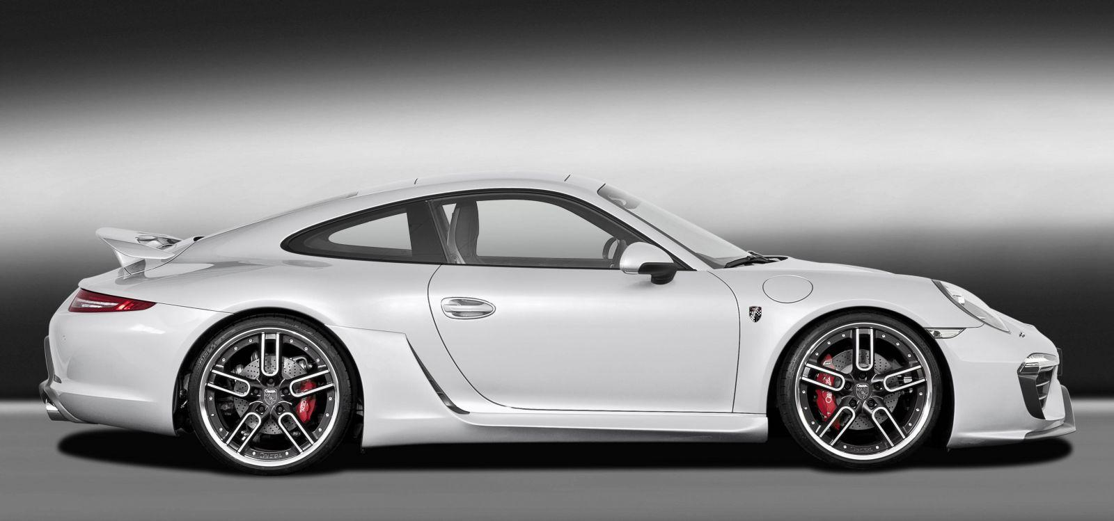 Caractere exclusive present porsche 911 kit at 2012 sema autoevolution