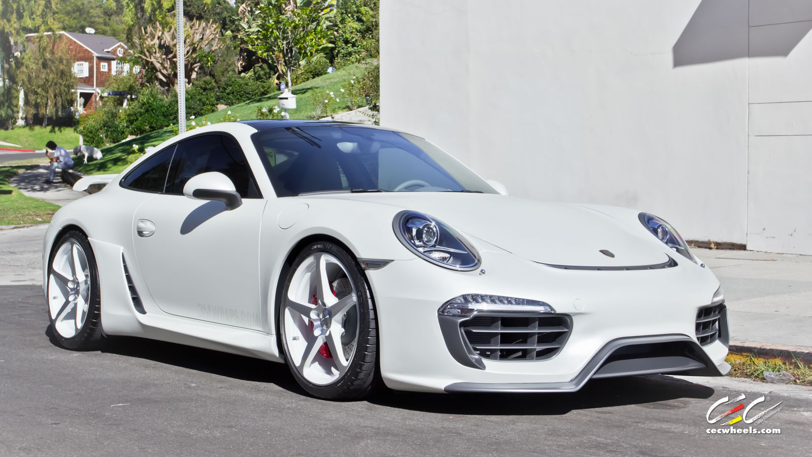 Caractere Exclusive Present Porsche 911 Kit At 2012 Sema