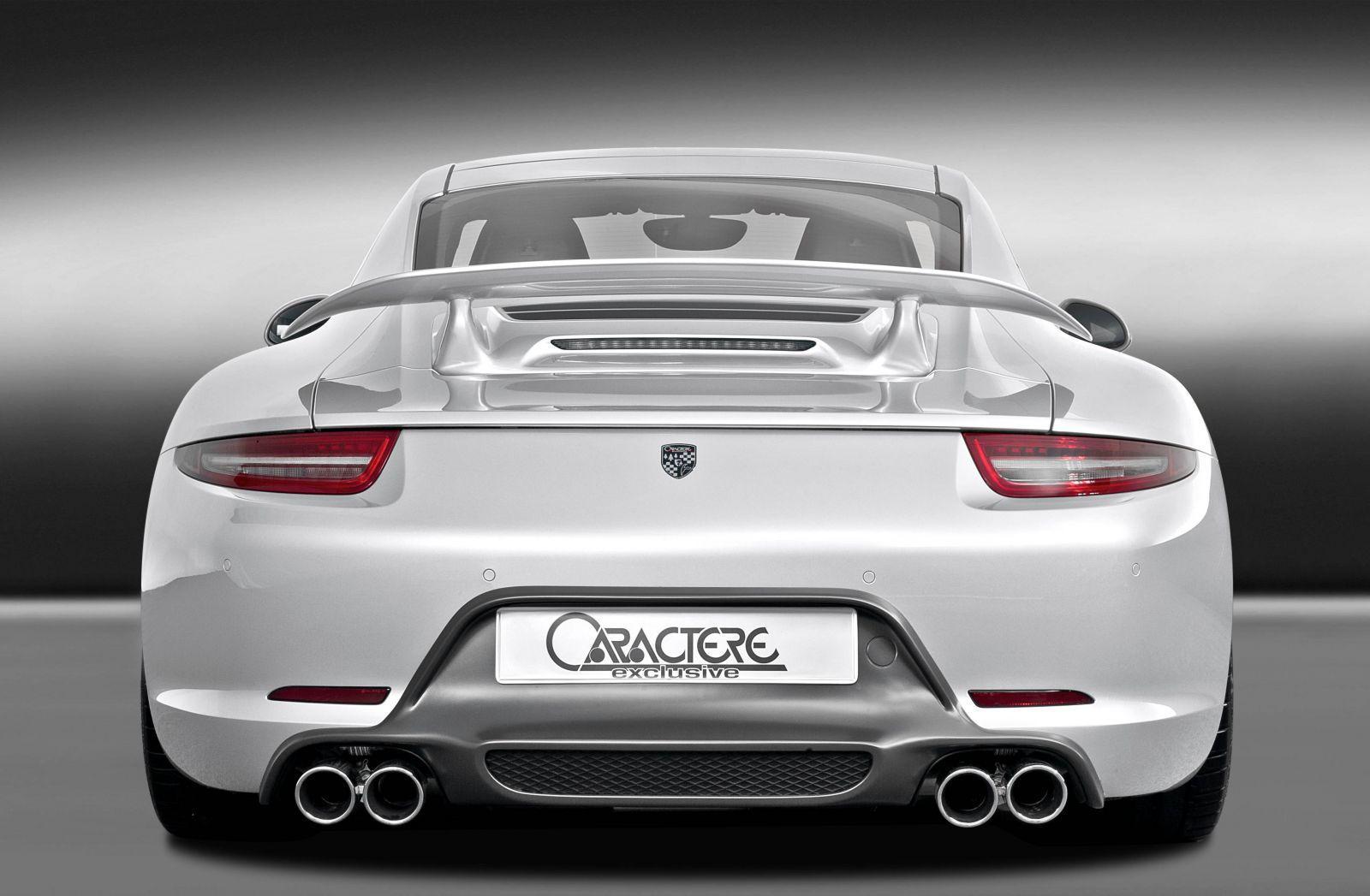 Central Auto Sales >> Caractere Exclusive Present Porsche 911 Kit at 2012 SEMA ...