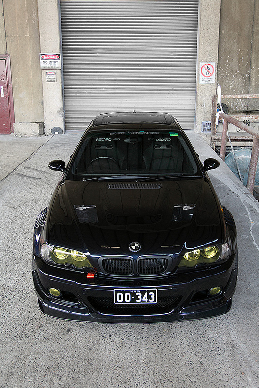 Carbon Black E46 M3 Photoshoot Shows Character