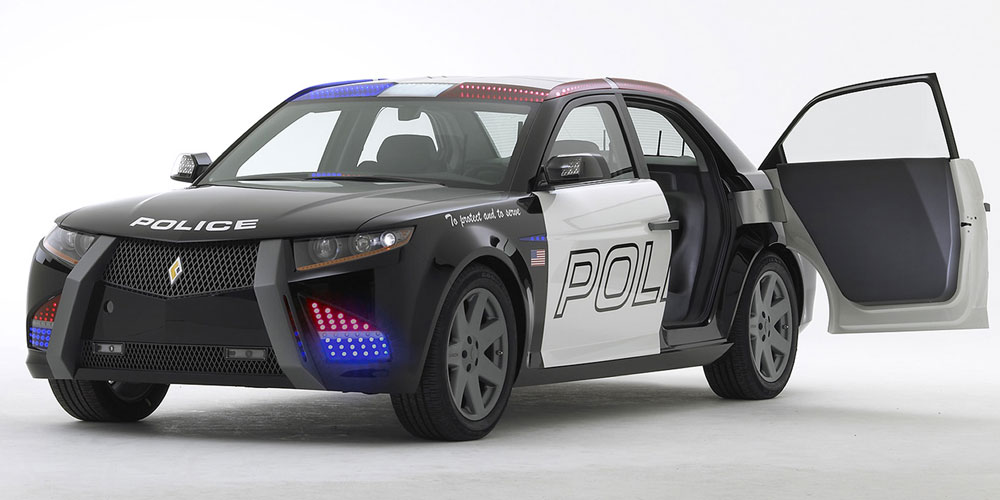 carbon e7 purpose built police car goes on sale in 2012 autoevolution. Black Bedroom Furniture Sets. Home Design Ideas