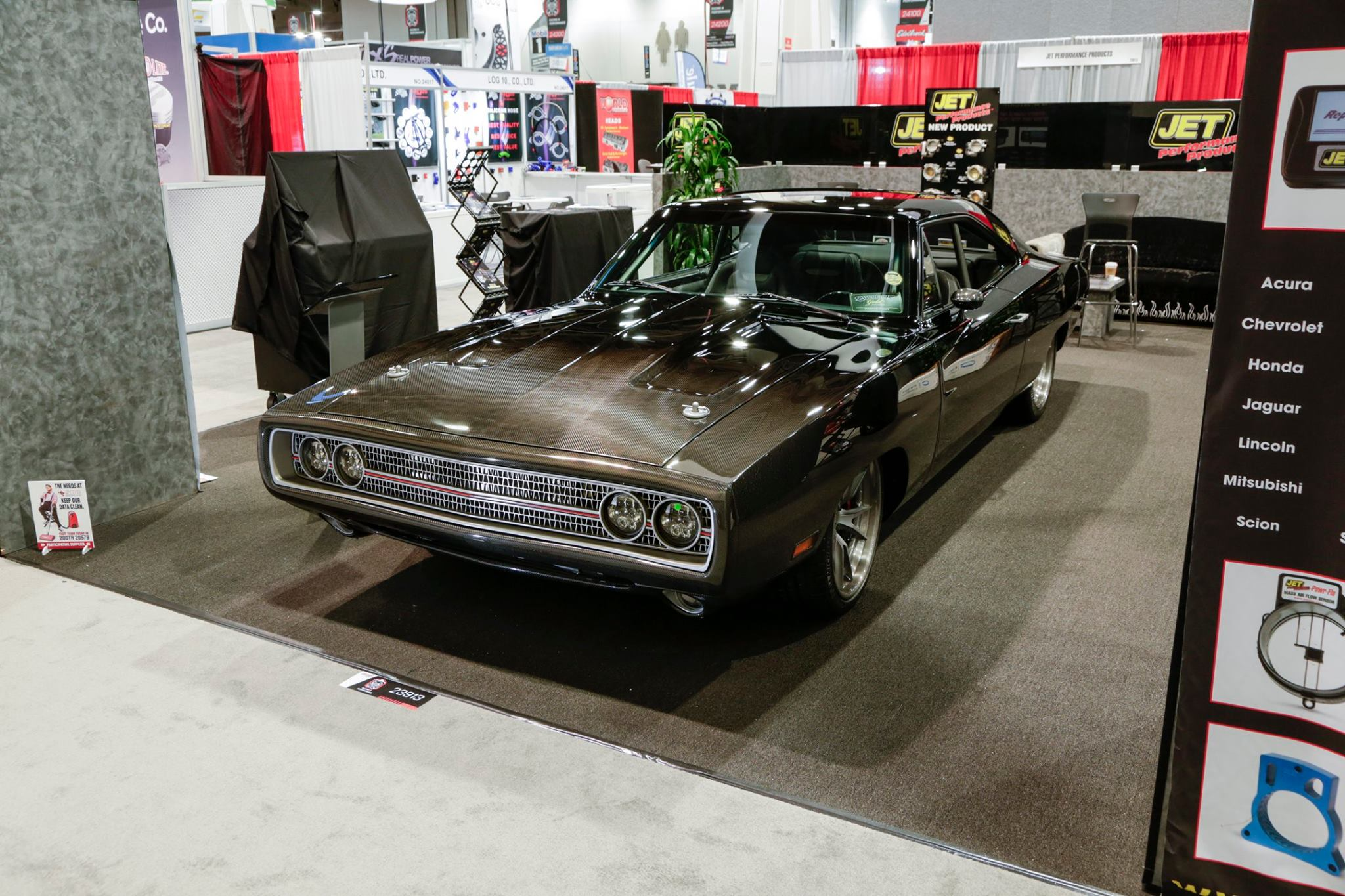 Carbon Fiber 1970 Dodge Charger with Immaculate Mercury ...