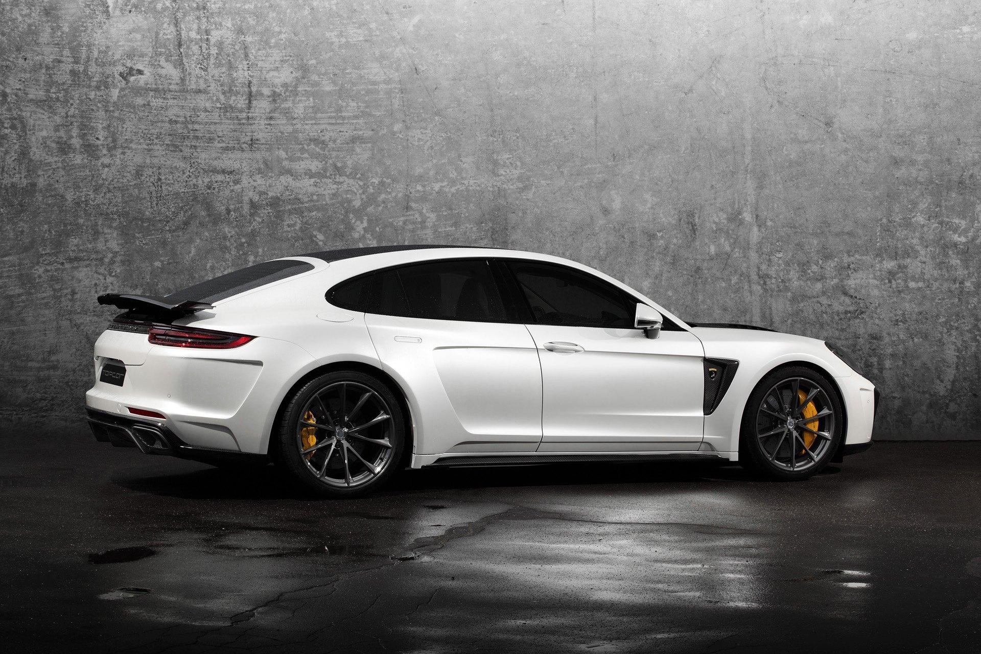 2017 Porsche Panamera Turbo Tuned By Topcar