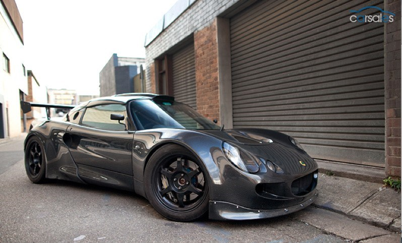 Carbon Fiber Lotus Exige With Audi Turbo Engine For Sale