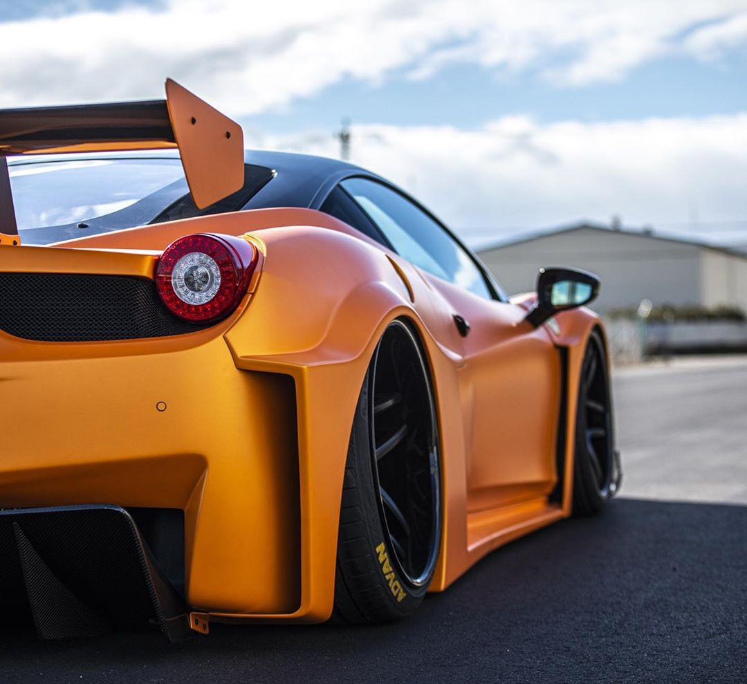 Carbon Liberty Walk Ferrari 458 Is Simply The Zest Looks Enzo Like Autoevolution