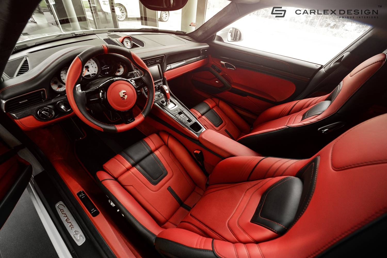 carlex customizes a porsche 911 looks christmas themed autoevolution. Black Bedroom Furniture Sets. Home Design Ideas