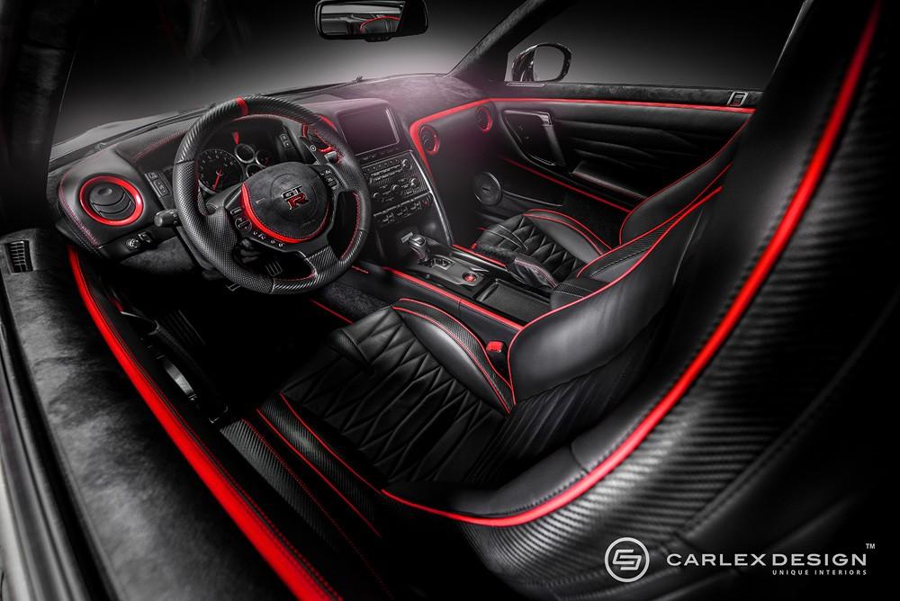 Nissan GT R Red Katana By Carlex Design ...