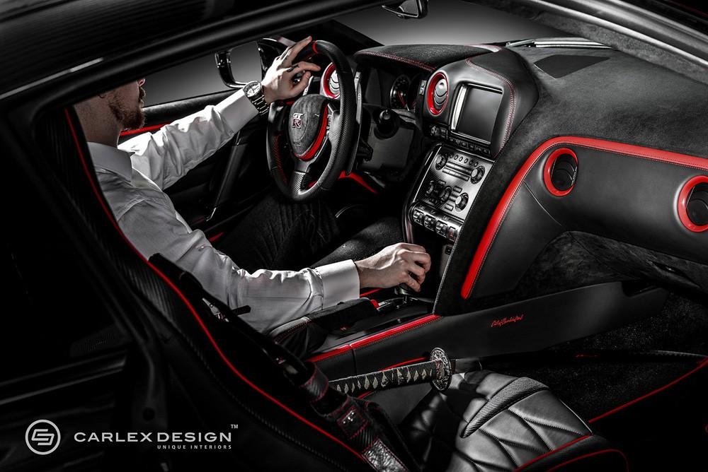 ... Nissan GT R Red Katana By Carlex Design ...
