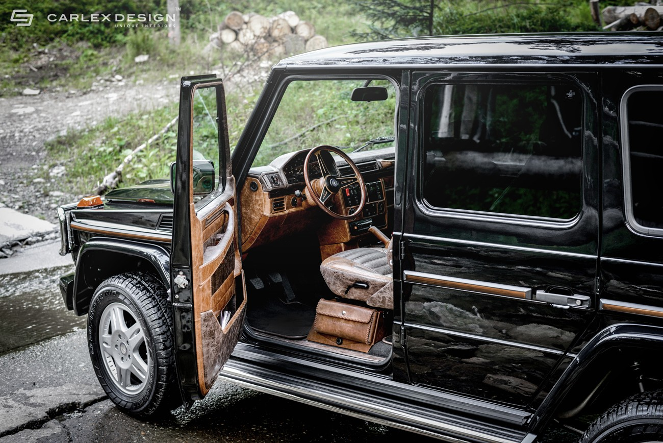 carlex touches mercedes g class more leather equals. Black Bedroom Furniture Sets. Home Design Ideas