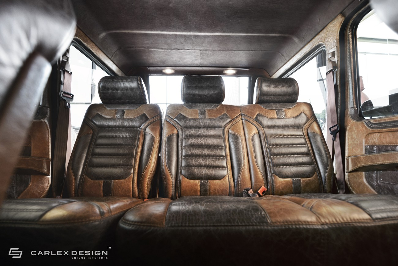 carlex touches mercedes g class more leather equals better off road credentials autoevolution. Black Bedroom Furniture Sets. Home Design Ideas