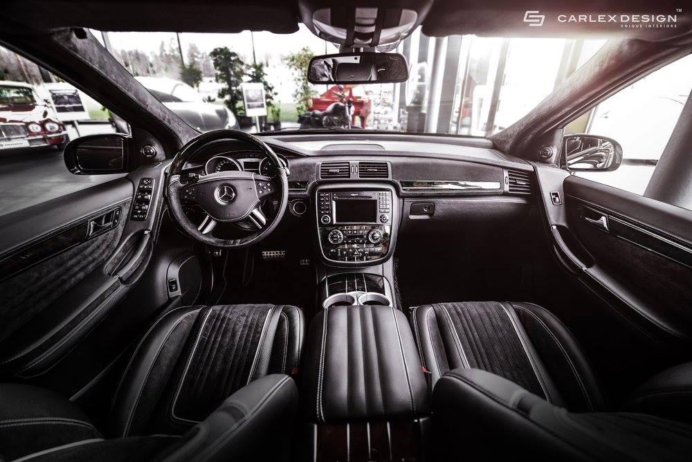 Carlex Fits a Mercedes-Benz R63 AMG with Hippopotamus ...