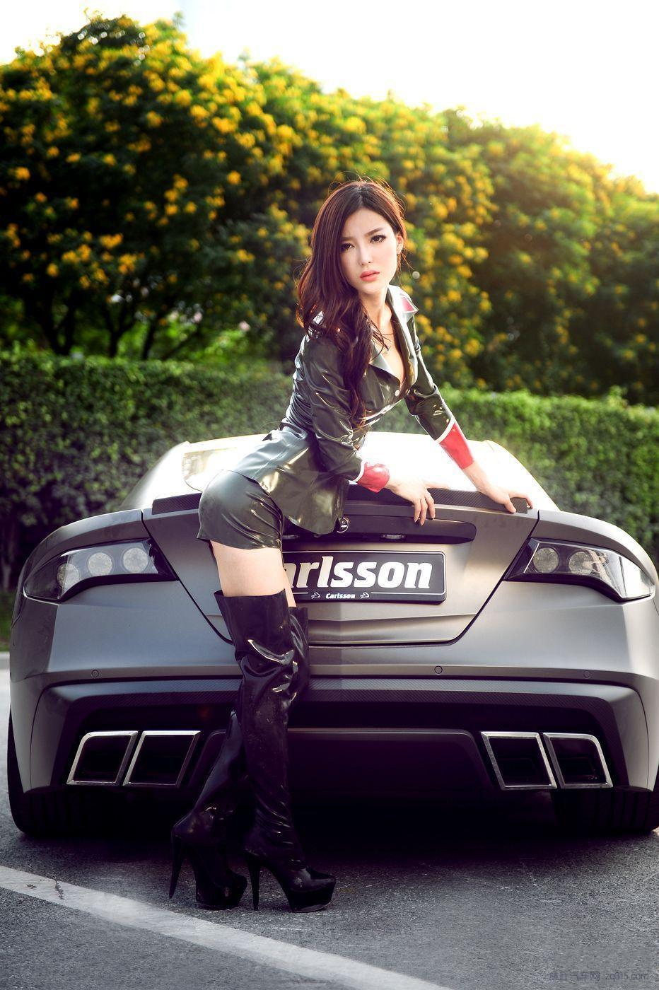 Carlsson C25 Mercedes Sl65 Amg And Chinese Latex Babe