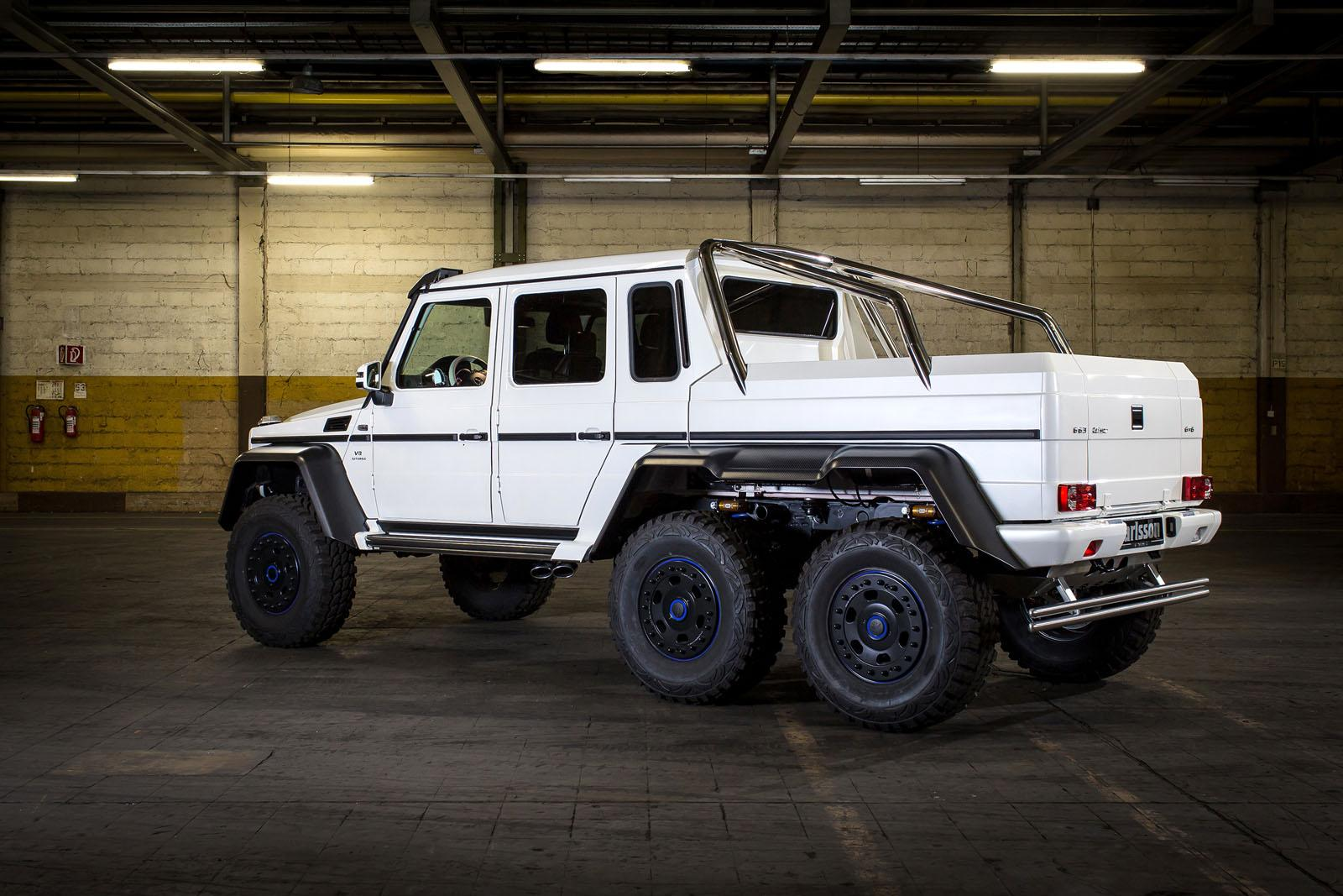 Carlsson Pushes Mercedes Benz G 63 Amg 6x6 To 650 Hp