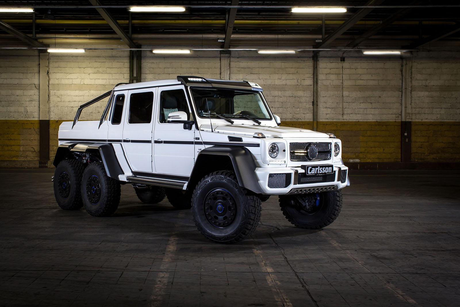 Carlsson pushes mercedes benz g 63 amg 6x6 to 650 hp for Mercedes benz g 63 amg 6x6