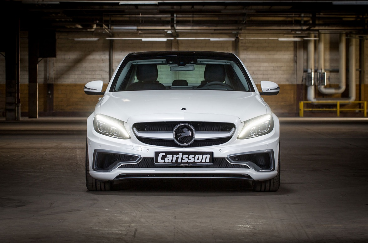 Carlsson Puts An Evil Face On The New C Class W205