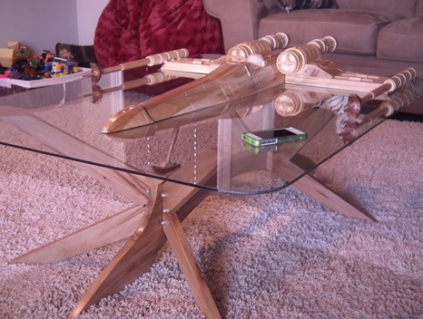 ... Craftsman Builds Astonishing Star Trek And Star Wars Tables