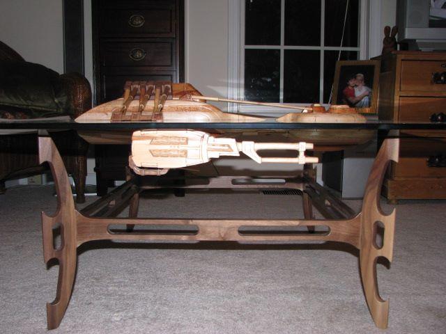 Superb ... Craftsman Builds Astonishing Star Trek And Star Wars Tables ...