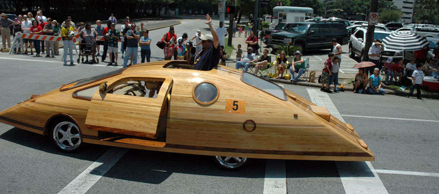 how to make a real wooden car