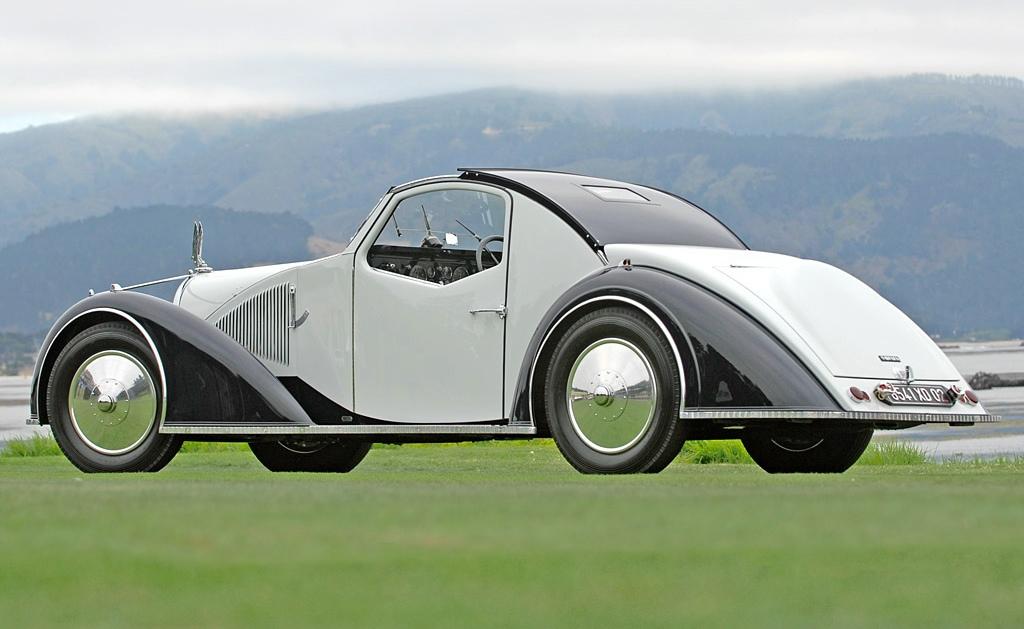 Cars Can Be Art 1934 Voisin C27 A 233 Rosport Autoevolution