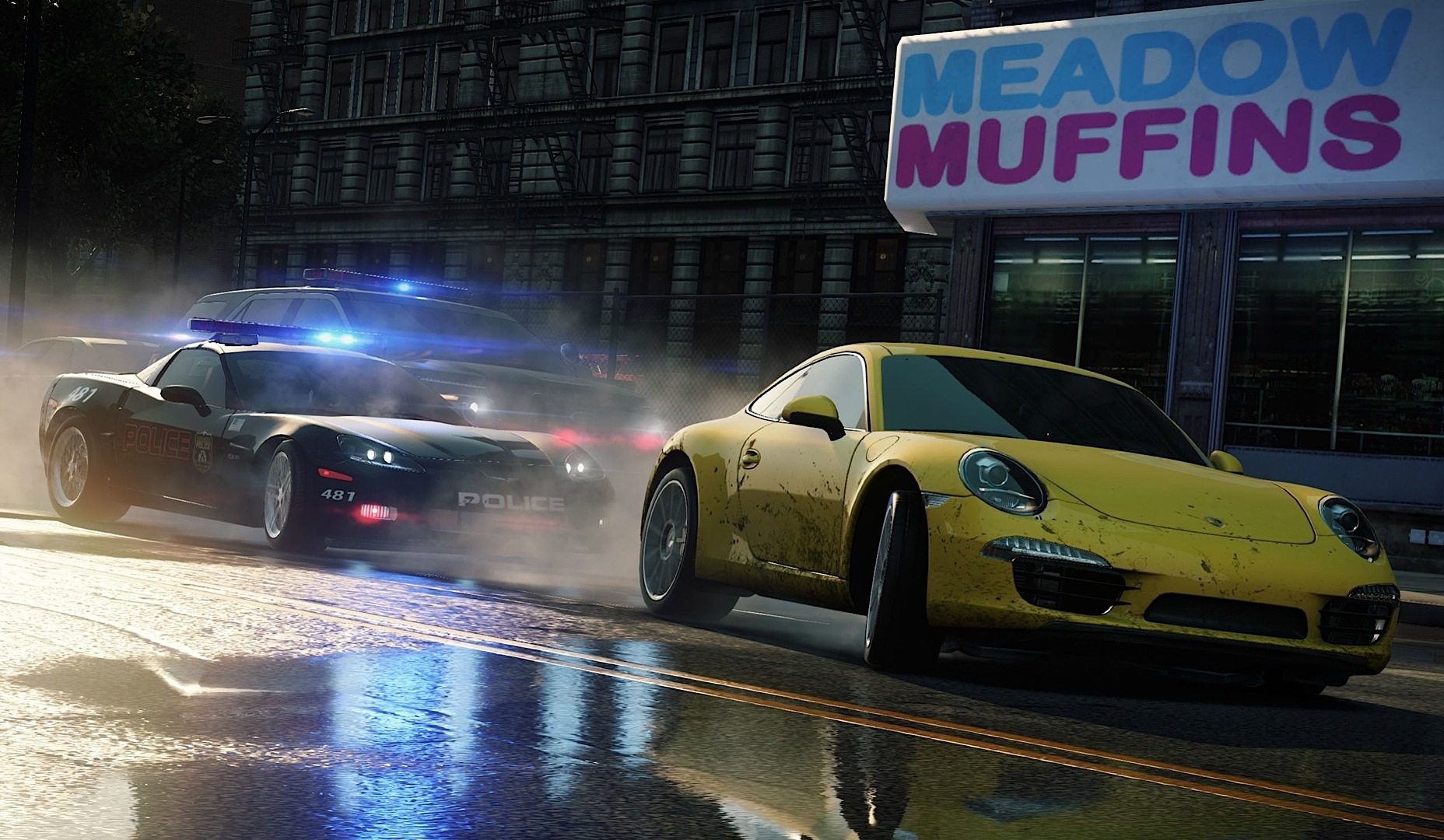 Cars In Need For Speed Most Wanted Revealed In
