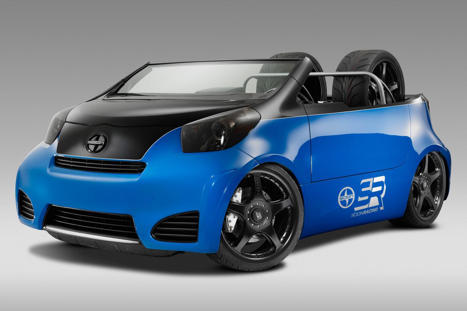 Cartel Pitt Boss Scion Iq Brings The Summer To 2011 Sema