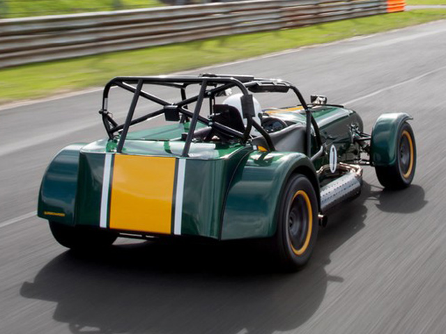 Caterham Reveals Supercharged R600 Superlight Autoevolution
