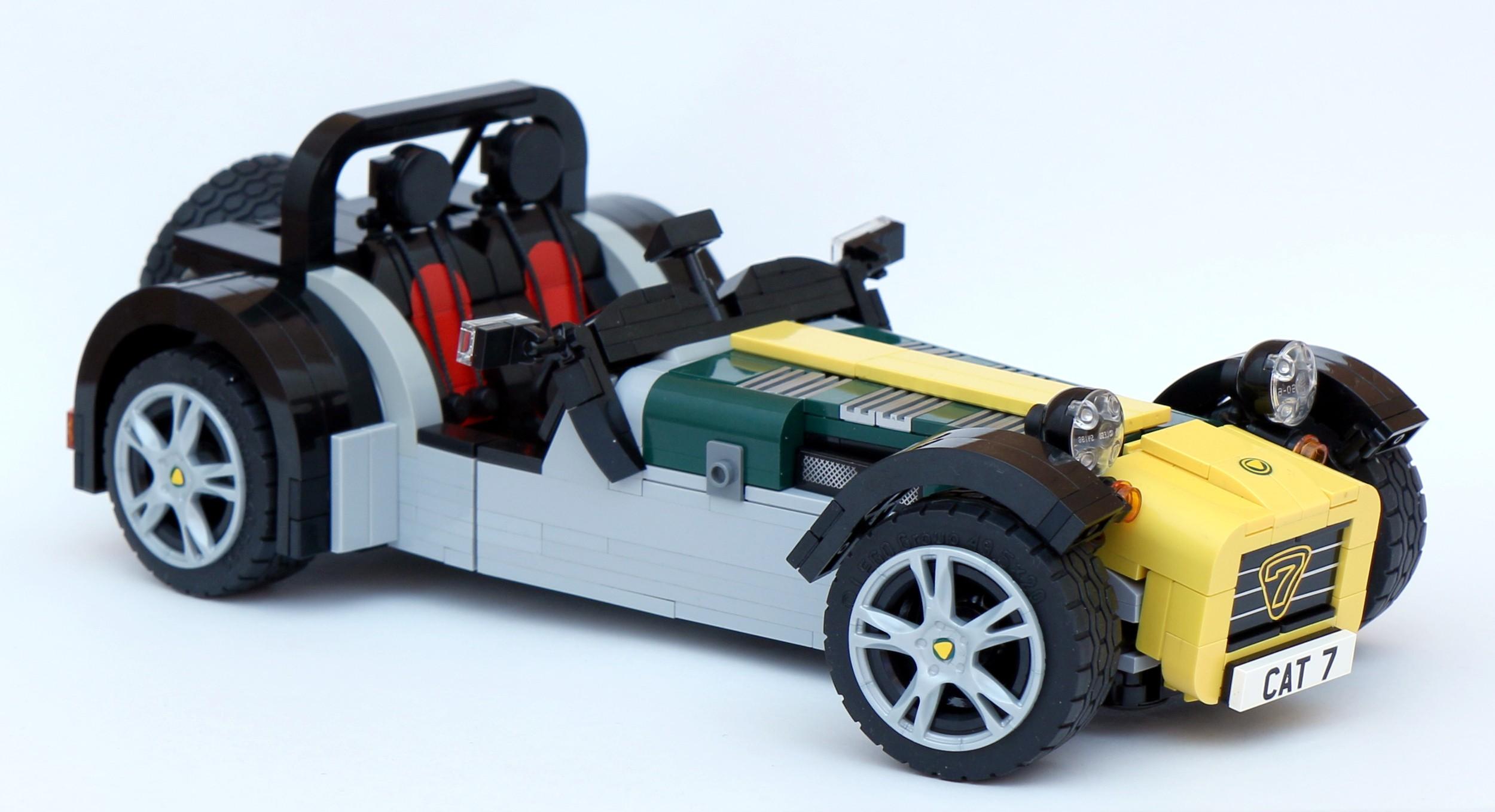 the caterham super seven gets a lego version autoevolution. Black Bedroom Furniture Sets. Home Design Ideas