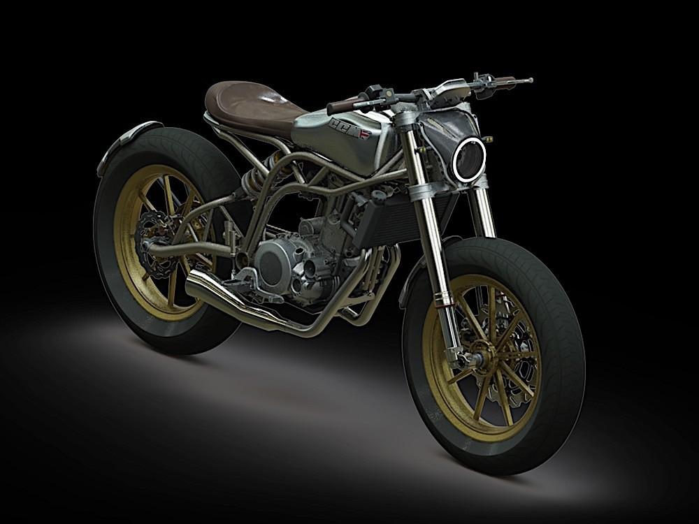 CCM Motorcycles Reveals New Spitfire Flat-Tracker - autoevolution