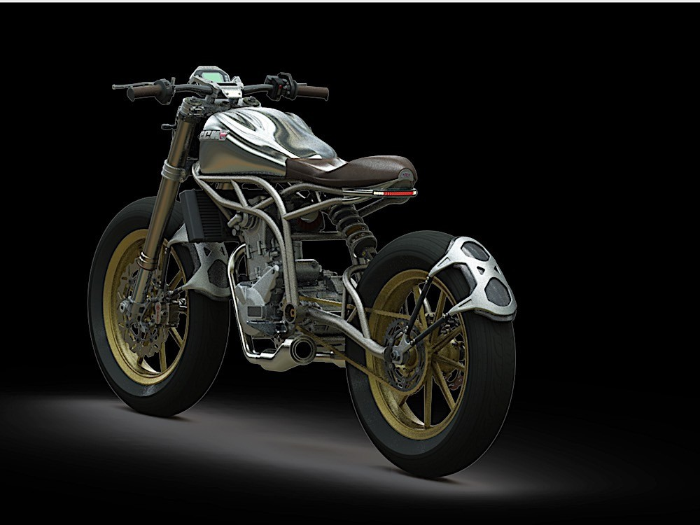 Ccm Motorcycles Reveals New Spitfire Flat Tracker