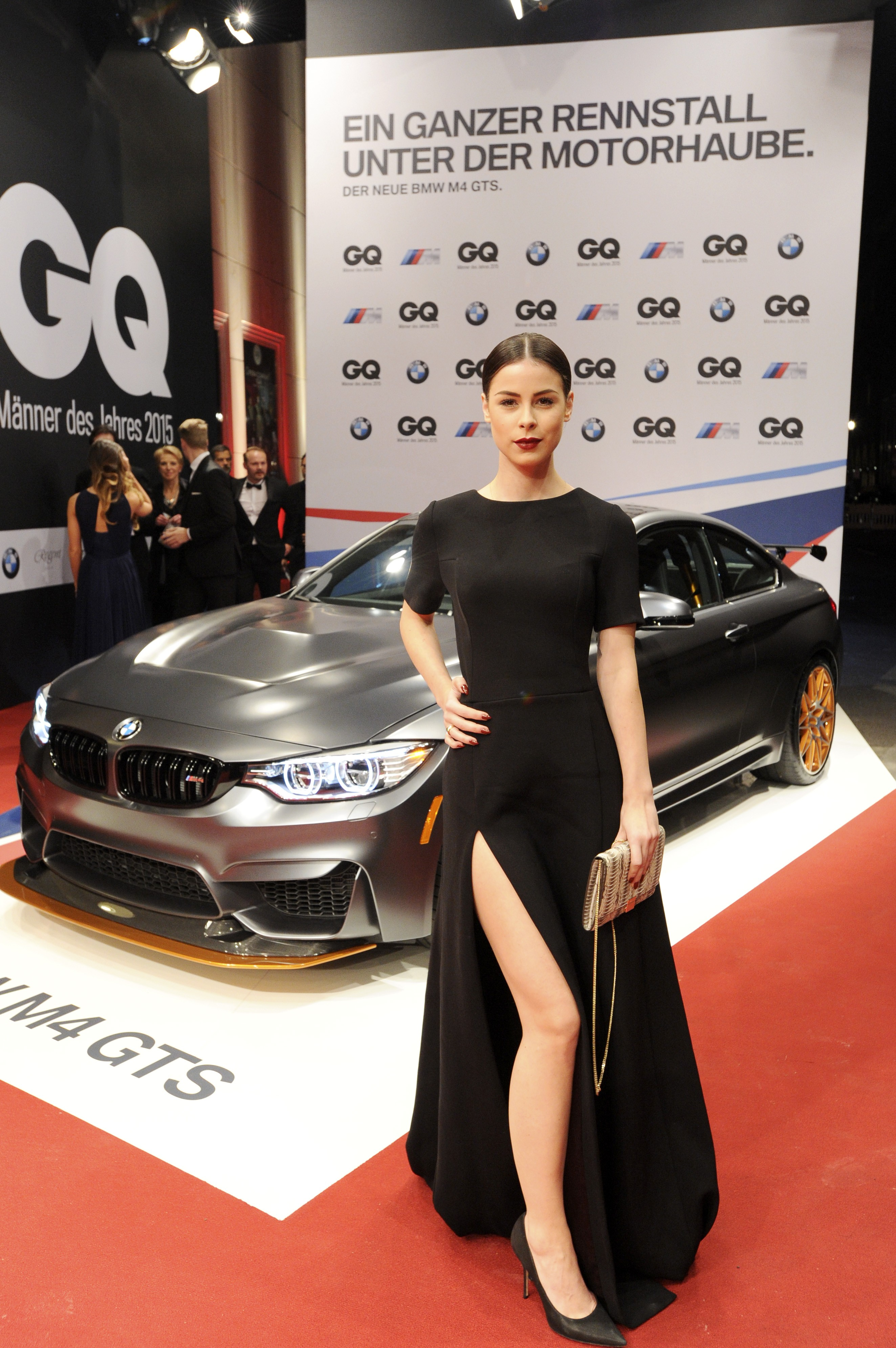 International Auto Show >> Celebrities Take Turns Posing with the BMW M4 GTS at GQ Men of the Year Awards - autoevolution
