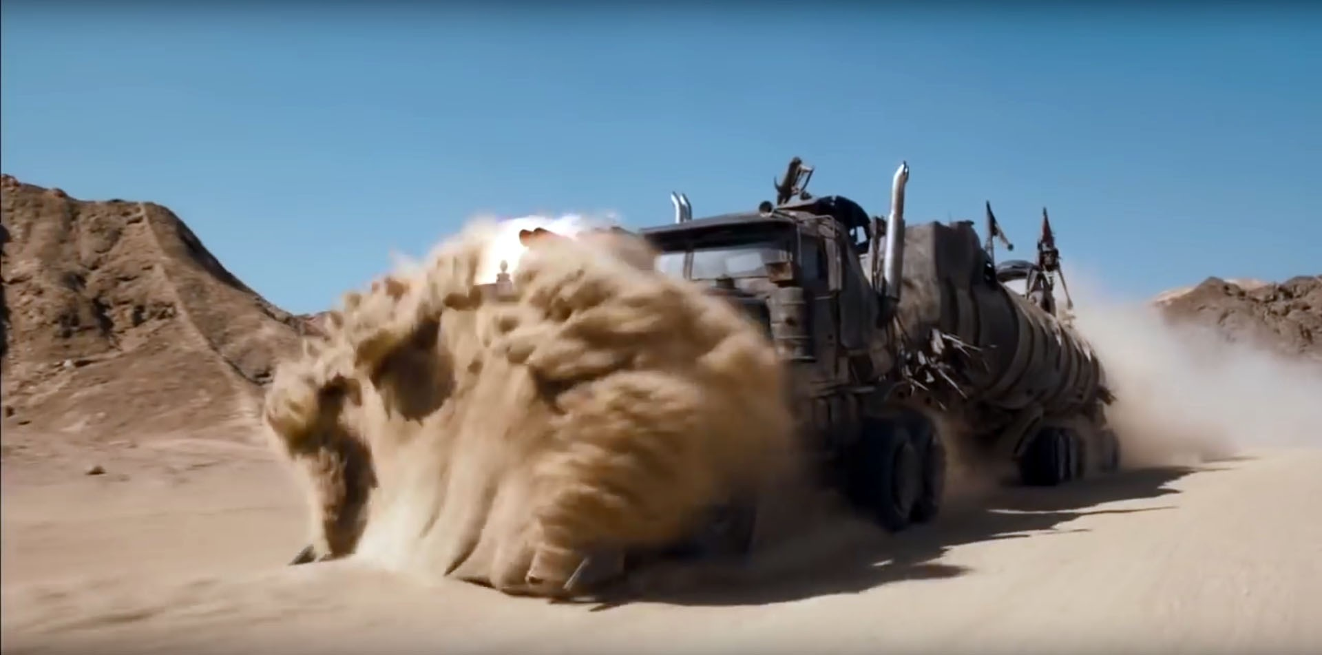 Mad Max: Fury Road New Trailer Has Epic Car Stunts ...