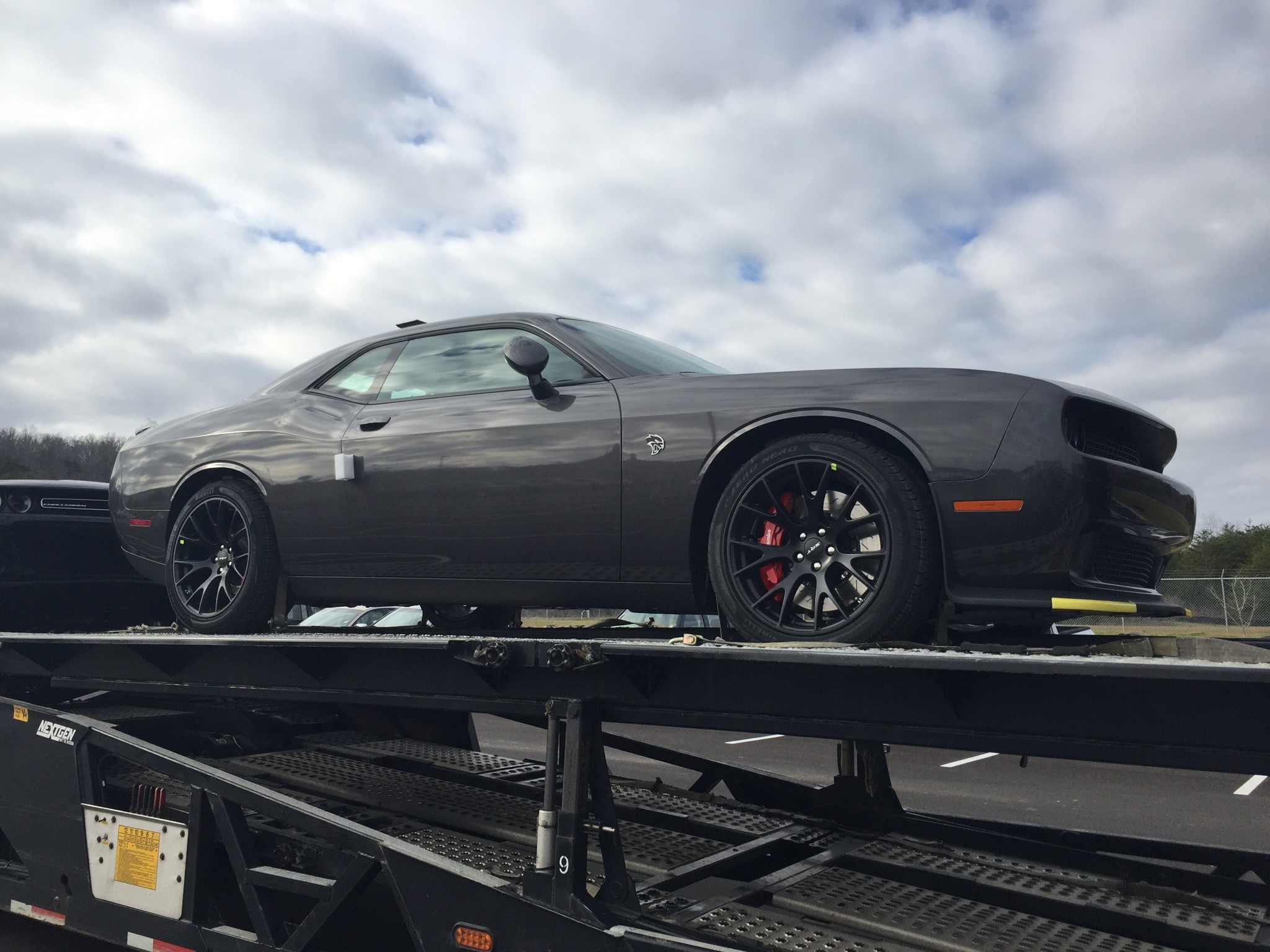Challenger Hellcat Owner Gets 2016my Replacement Car After