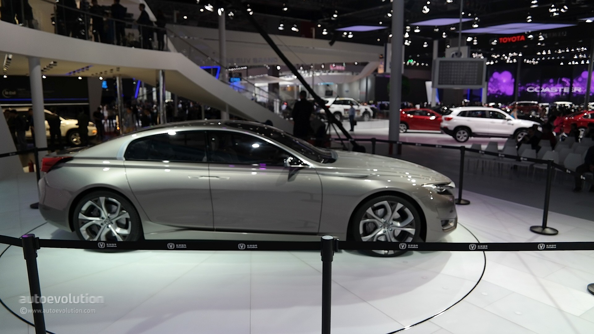 Changan Raeton CC Concept Is an Underpowered Tesla Model S Rival