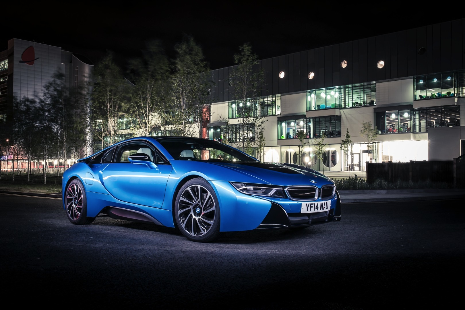 Check out the bmw i8 like youve never see it before autoevolution protonic blue bmw i8 sciox Image collections