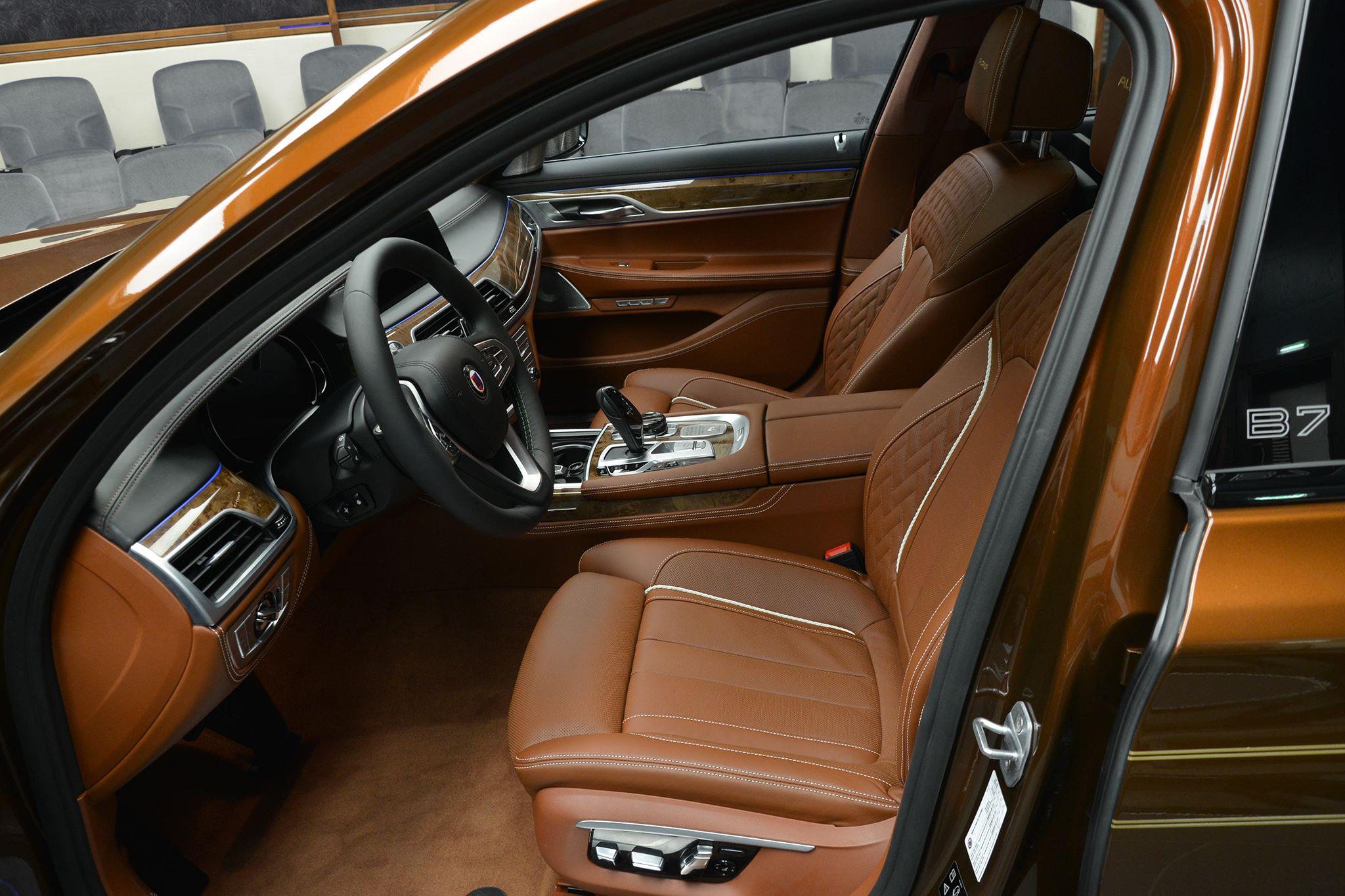 Chestnut Bronze Alpina B7 Bi Turbo Has Matching Brown